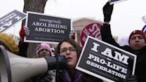Abortion Opponents March in Washington