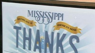 Mississippi's New Car Tag