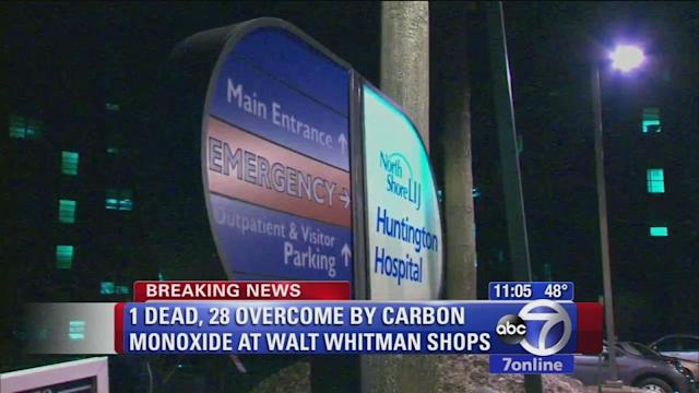 1 dead, 28 taken to area hospitals after overcome by carbon monoxide
