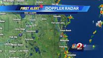 Showers, storms popping up across area