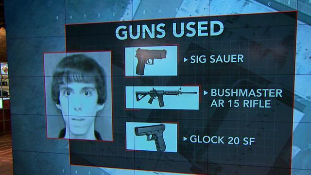 Adam Lanza's weapons, strategy