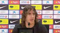 Puyol wants to play with Barcelona 'until 40'
