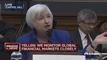 Yellen: Oil prices boosting consumer spending