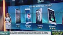 China's smartphone brands aim to go global