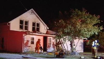 Brown County House Fire