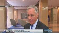French firms 'not strong enough': Noyer
