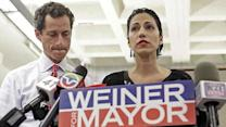 Debate over Weiner's wife's decision to stand by husband