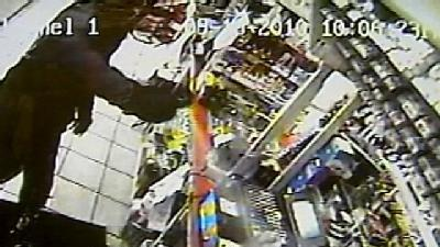 Men Use Pepper Spray In Gas Station Robbery