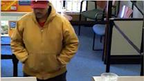 Man wanted for Jenkintown bank robbery