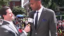 Red Carpet: Allan Houston