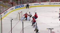 James Neal weaves in the zone and scores