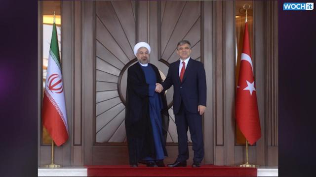 Iran's Rouhani In Turkey Says Tackling 'terrorism' A Priority