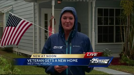 Injured soldier gets a new home in West Palm Beach