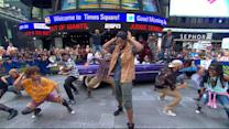 'Holler If Ya Hear Me' Broadway Cast Performs 'California Love'