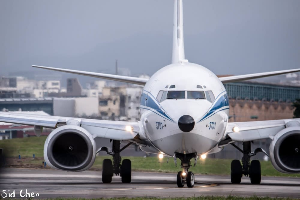 在松山機場還有機會看到空軍一號的蹤影唷!