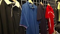 Unique golf clothing fabric from Chase 54