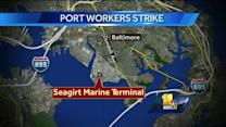 1,000 workers on strike at Port of Baltimore