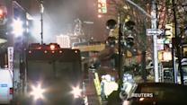 Rescuers search for survivors after NYC building explosion