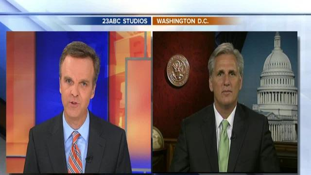 Full interview with Rep. Kevin McCarthy