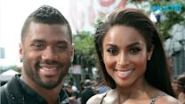 CIARA RUNS ROUTE, CATCHES A PASS FROM RUSSELL WILSON, SOLIDIFIES STATUS AS BEST GIRLFRIEND EVER