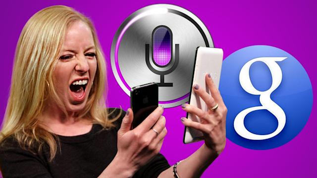 Face Off: Hilarious Siri vs Google Search - AppJudgment @ Revision3