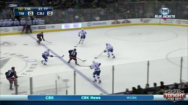 Tampa Bay Lightning at Columbus Blue Jackets - 01/13/2014