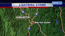 Person struck by lightning in Rutland County