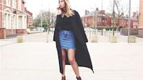 High Street Edit: How To Wear The A-Line Denim Skirt (Day And Night)