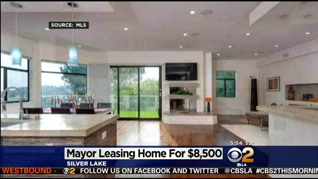 Mayor Garcetti's Silver Lake Home For Lease