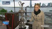 America's Cup sails into NYC after 96 years