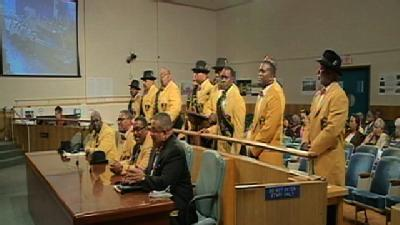 Zulu Annual Presentation At New Orleans City Council Meeting