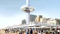 World's first vertical cable car to open in UK in 2016