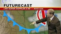 Video Cast: Steady Temps, Little Precip Ahead