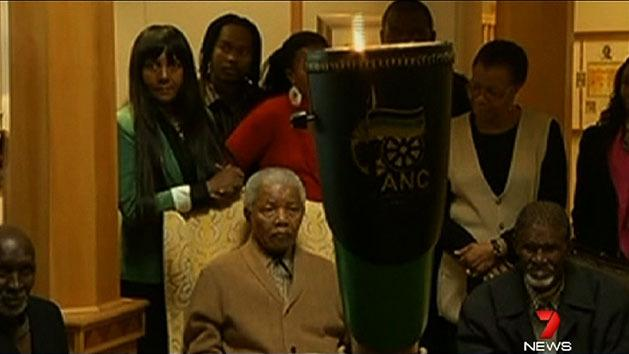 President says Mandela improving