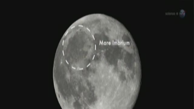 NASA catches meteoroid impact on moon