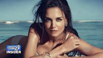 Katie Holmes Strips Down, Goes Topless for Jewelry Campaign