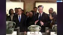 Newspaper Accuses Cameron, On Trade Trip, Of Meddling In China's Affairs