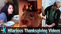 Top 10 Hilarious Thanksgiving YouTube Videos - TopX