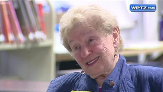 Holocaust survivor shares her story