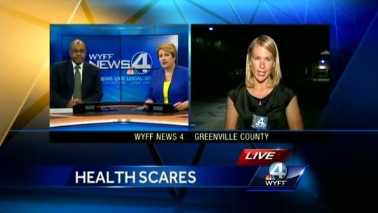 Three Upstate schools dealing with health scares