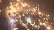 Raw: Thousands Descend on Pakistan Capital