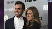 "Jennifer Aniston And Justin Theroux ""Very Lovey Dovey"" At The Leftovers After Party"