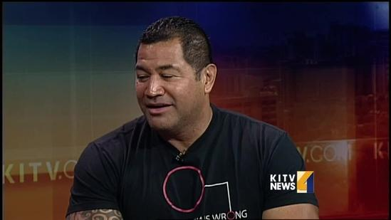 NFL player Esera Tuaolo stand up against bullying