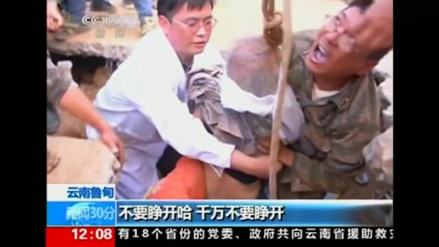 88 year-old rescued after two days in quake rubble