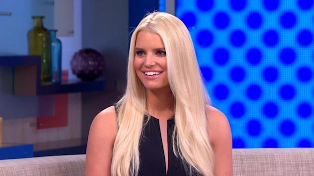 Jessica Simpson on New Baby, Weight Loss