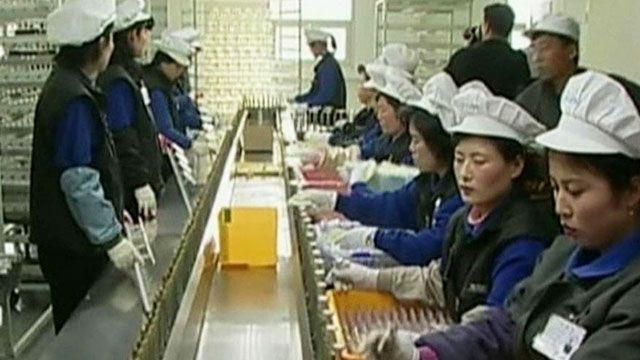 North Korea bans workers from factory complex