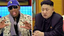 Kim Jong Un and Rodman: indiscernible vs. inexplicable