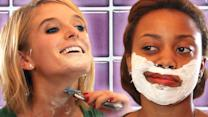 These Girls Tried Shaving Their Faces For The First Time And Loved It