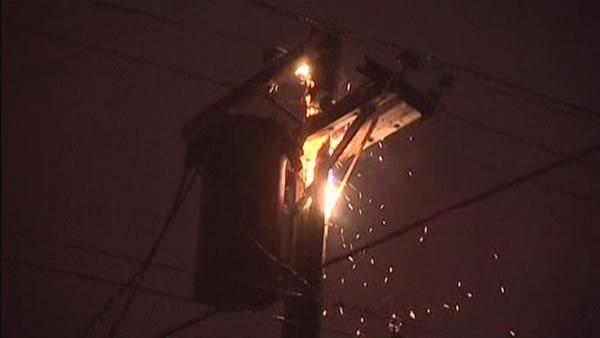 Power pole fires cause outages all over SF