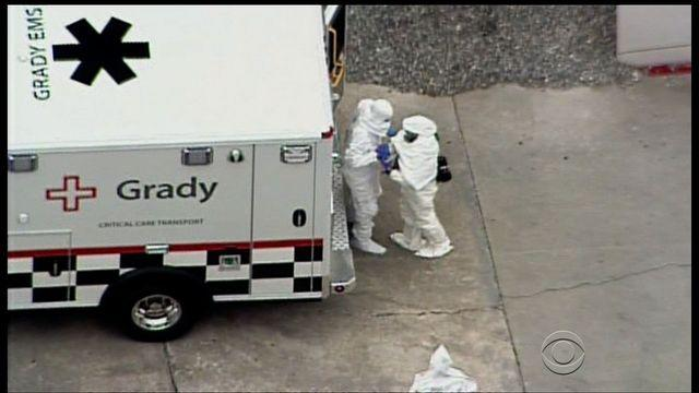 Ebola patient brought to U.S. for medical treatment